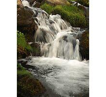 Rush of water Photographic Print