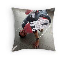 ''Breakdancer'' Throw Pillow