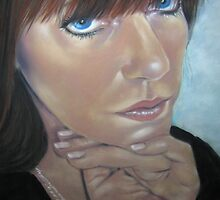 Pensive by Valerie Simms