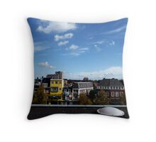 Building a view Throw Pillow