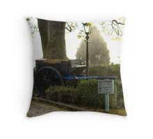 Roland Bardsley Builders Throw Pillow