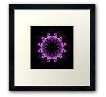 The Power of Purple I Framed Print