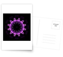 The Power of Purple I Postcards