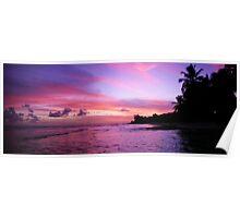 Sunset Barbados Poster