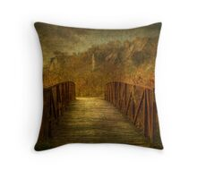 On the Threshold of a Dream Throw Pillow