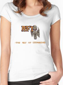 AFI - The Art of Drowning Women's Fitted Scoop T-Shirt