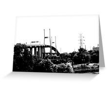 Georgia  Bridge Greeting Card