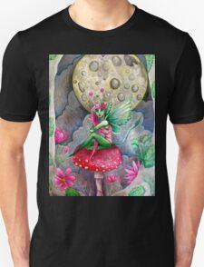 magic mushrooms & fairy forest  T-Shirt