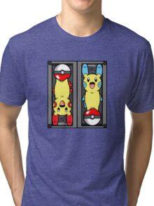 Poke-Batteries  Tri-blend T-Shirt
