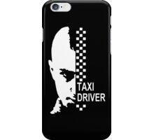 Stencil Taxi Driver Robert iPhone Case/Skin