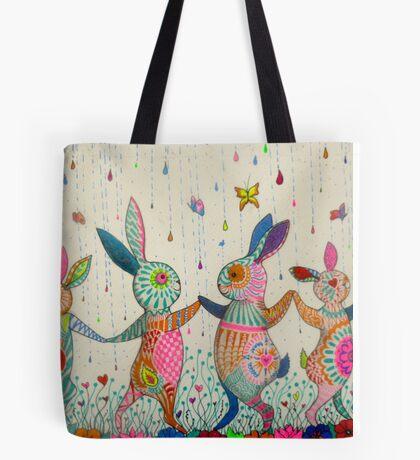 raving rabbits  Tote Bag