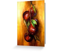 Apples....A Still Life.. Greeting Card