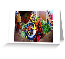 Croft Alley Greeting Card