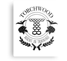 Torchwood - Agent in Training Metal Print