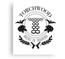 Torchwood - Agent in Training Canvas Print