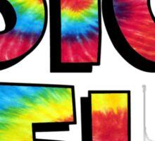 Tie Dye Sig Delt Sticker