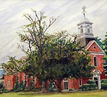 Protestant Chapel Marine Corps Base Camp Lejeune by Jim Phillips