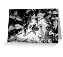 Grow Old Along With Me The Best Is Yet To Be Greeting Card