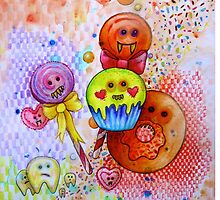 sugar rush scary candy  by melaniedann