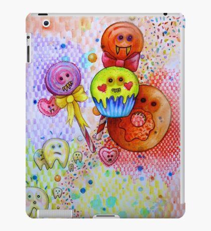 sugar rush scary candy  iPad Case/Skin