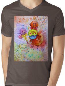 sugar rush scary candy  Mens V-Neck T-Shirt