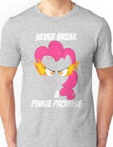 Never Break a Pinkie Promise (WHITE TEXT) Unisex T-Shirt