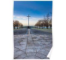 Papal Cross - Dublin Ireland Christian Landmark Poster