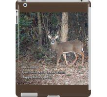 Deer Dad iPad Case/Skin