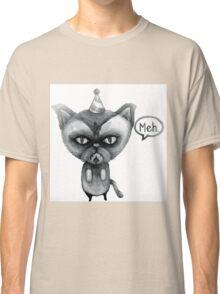 party poop grumpy cat Classic T-Shirt