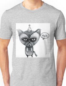 party poop grumpy cat Unisex T-Shirt