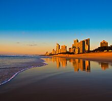 Gold Coast Sunrise by David Petranker