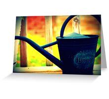 Water Bucket Greeting Card