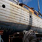 Wooden Ship on the Dry by H A Waring Johnson