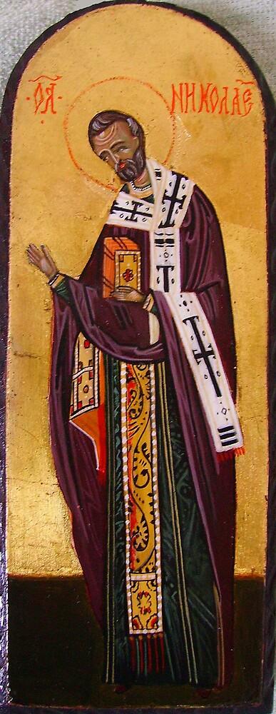 St. Nicholas by Ivana Vuckovic