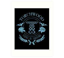Torchwood - Agent in Training (2) Art Print