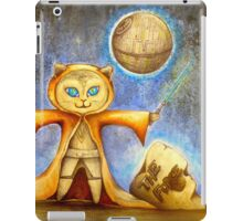 let the force be with you cute star war kitty iPad Case/Skin