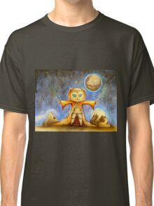 let the force be with you cute star war kitty Classic T-Shirt