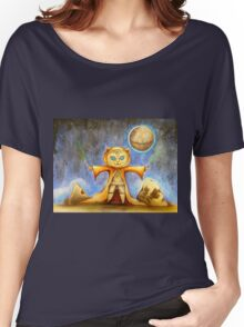 let the force be with you cute star war kitty Women's Relaxed Fit T-Shirt