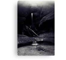 Mist at Centennial Glen Canvas Print