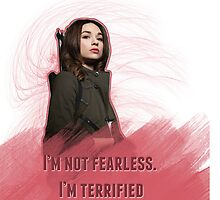 I'm Not Fearless. I'm Terrified || Allison by mandymallette
