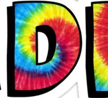 Tie Dye ADPI Sticker