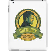 Brownstone Brewery: Sherlock Holmes Honey Lager iPad Case/Skin