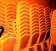 Stunning Stacked Chairs by H A Waring Johnson