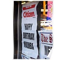 Nelson Mandela Birthday Celebration Poster