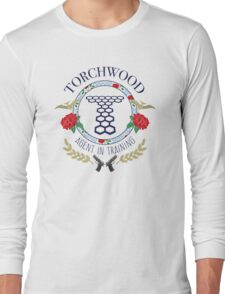 Torchwood - Agent in Training (Colour Version) Long Sleeve T-Shirt