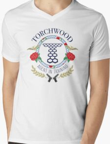 Torchwood - Agent in Training (Colour Version) Mens V-Neck T-Shirt