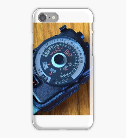 Photographic Light Meter iPhone Case/Skin