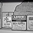 spice tins by Lynne Prestebak