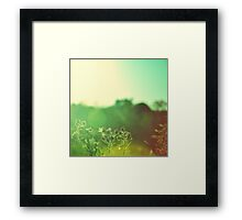 Experiments In Light 14 Framed Print