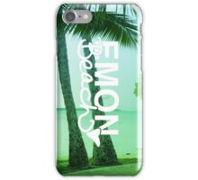 Emon Beach - Photo Background iPhone Case/Skin